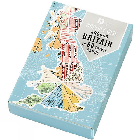 Around Britain in 80 Cards