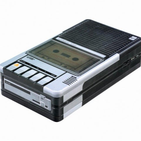 Buy vintage tape recorder tin at Hyde and Seek
