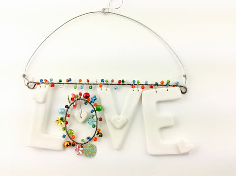 CLAY LOVE BEAD HANGER