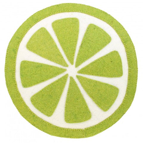 Lime Slice Wall Decoration