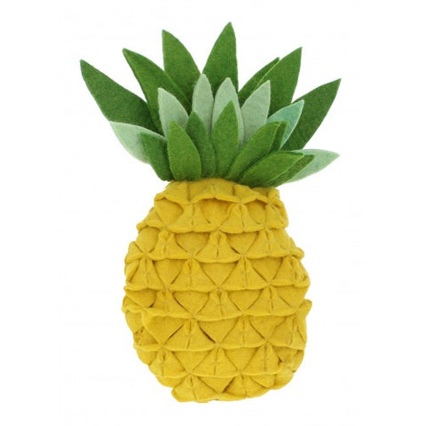 Yellow Pineapple Wall Decoration