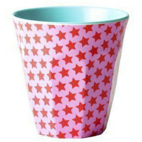 Red Star Two Tone Melamine Cup by Rice DK