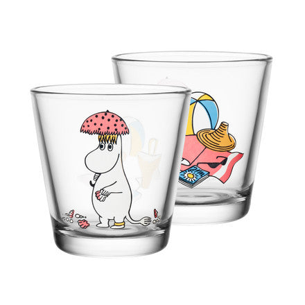 Moomin Glass with Snorkmaiden in the Sun