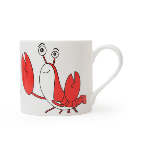 The World Is Your Lobster Large Mug