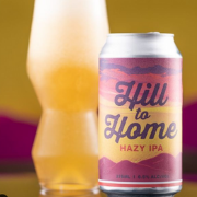 Hargreaves Hill x Hops to Home collab - Hill to Home Hazy IPA