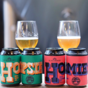 Blackmans Brewing x Hops to Home collab - Hopsie and Homie West Coast IPA's