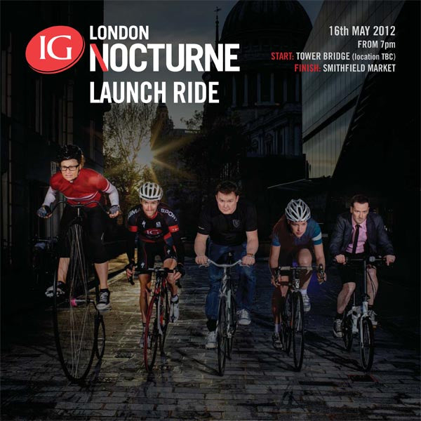 2012 IG London Nocturne - Launch Ride