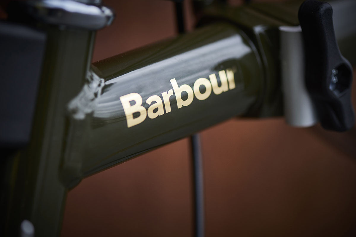 Brompton team up with Barbour