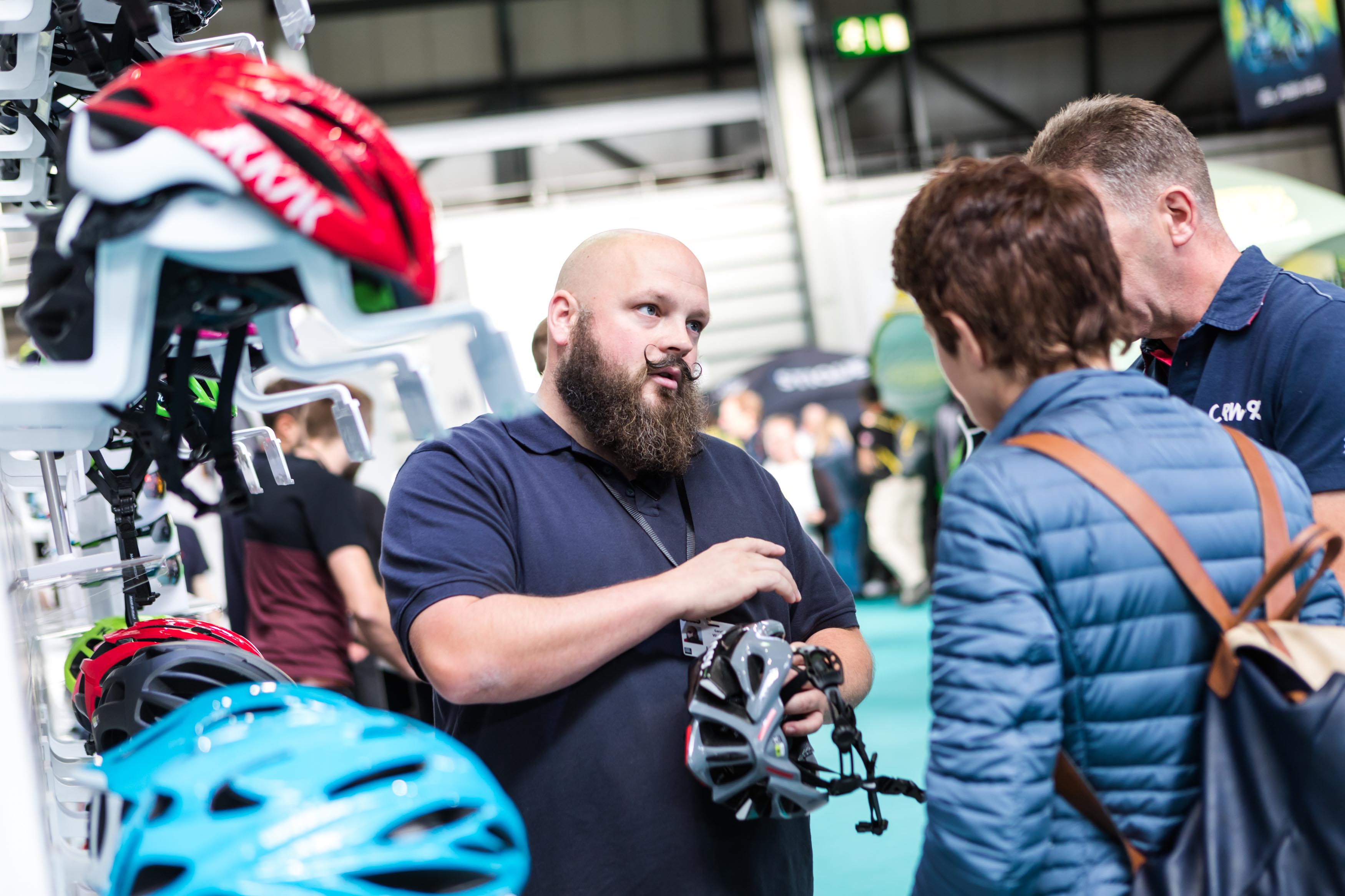 The Cycle Show is full of the latest gear, tech and accessories