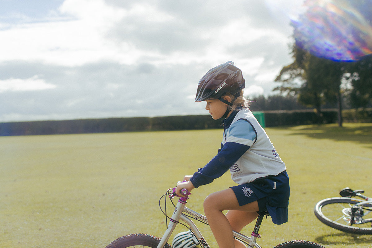 How to fit a children's cycle helmet