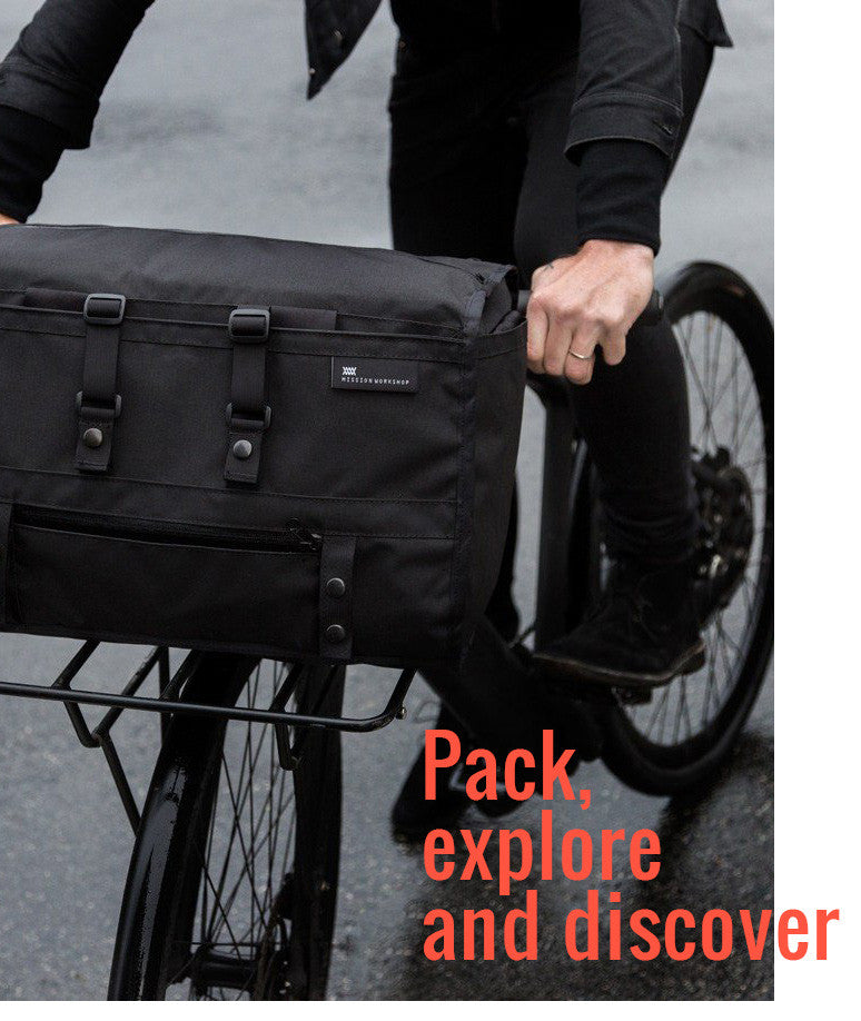 8 great luggage solutions for bikes