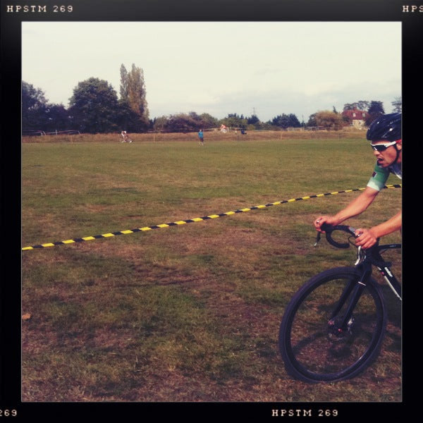 Ben on 'cross bike