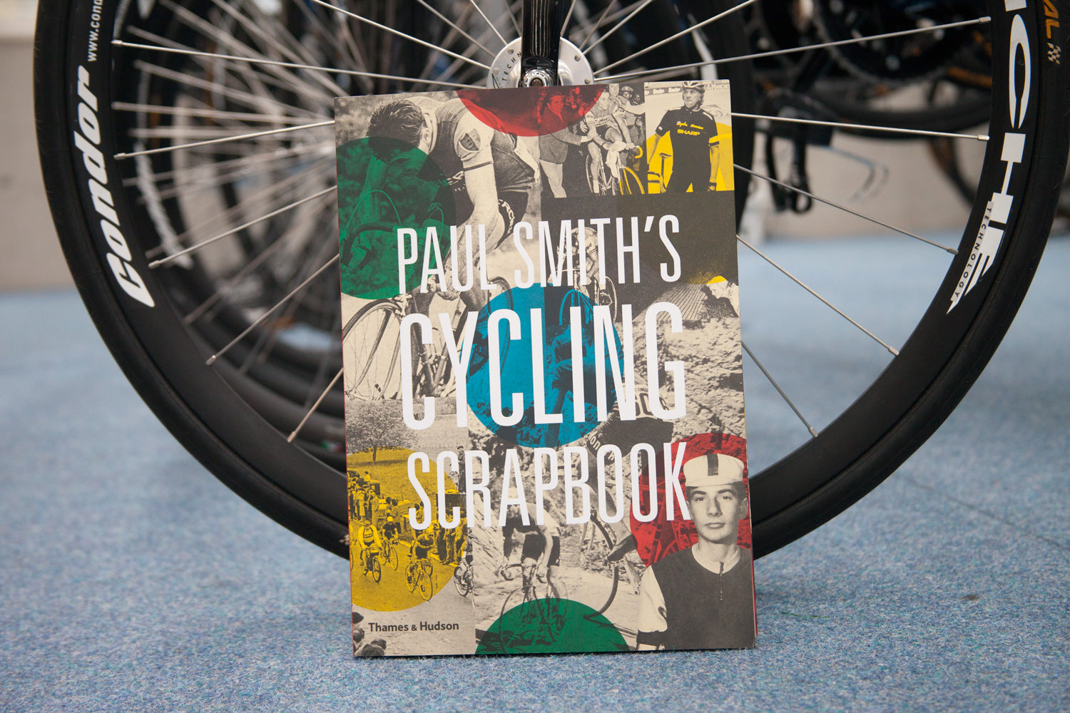Front cover Paul Smith's Cycling Scrapbook