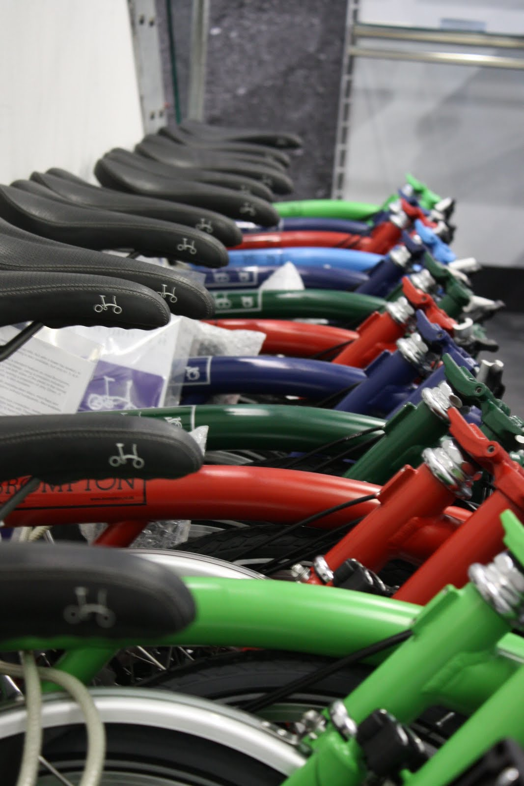 New stock of Bromptons is now in store