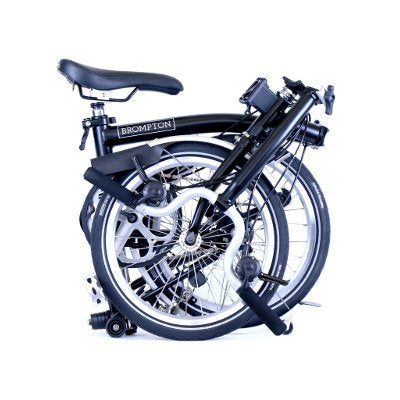 Original Brompton with silver components