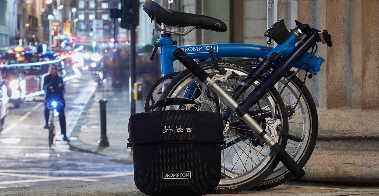Shop Brompton bikes, accessories and luggage at Condor Cycles