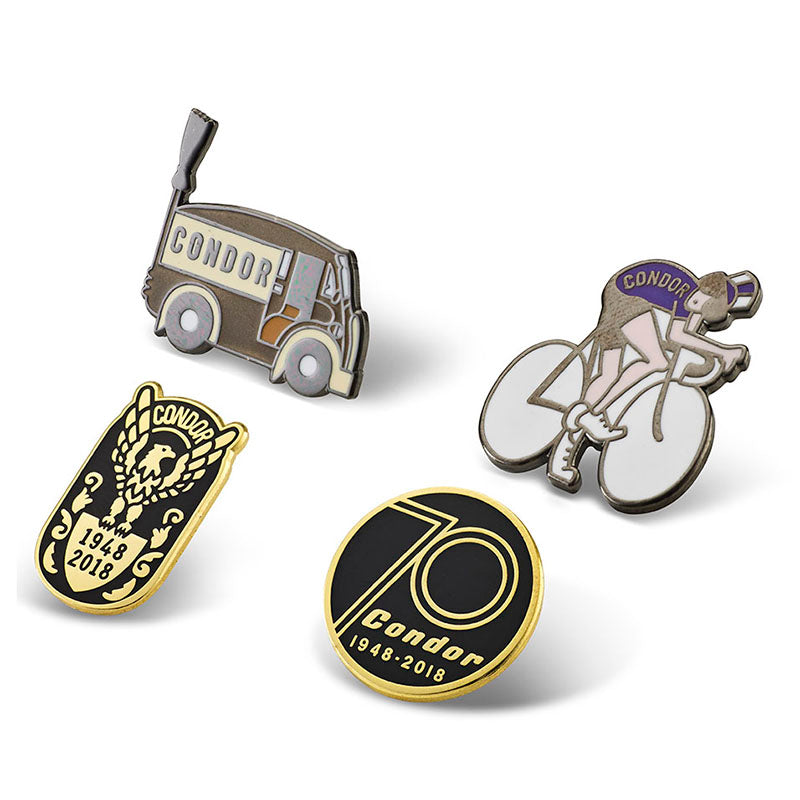 Enamel Pin Badge Set