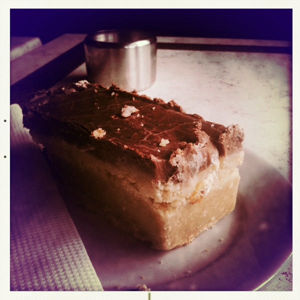 Caramel slice from Breedon