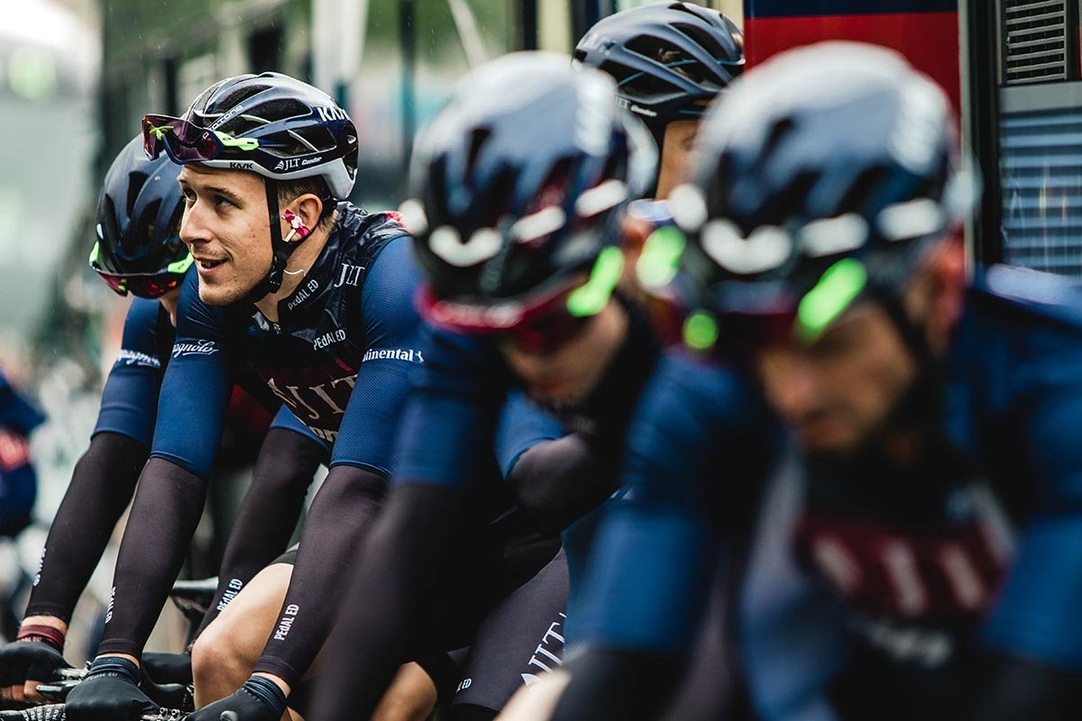 Chris Lanaway spends time with JLT Condor