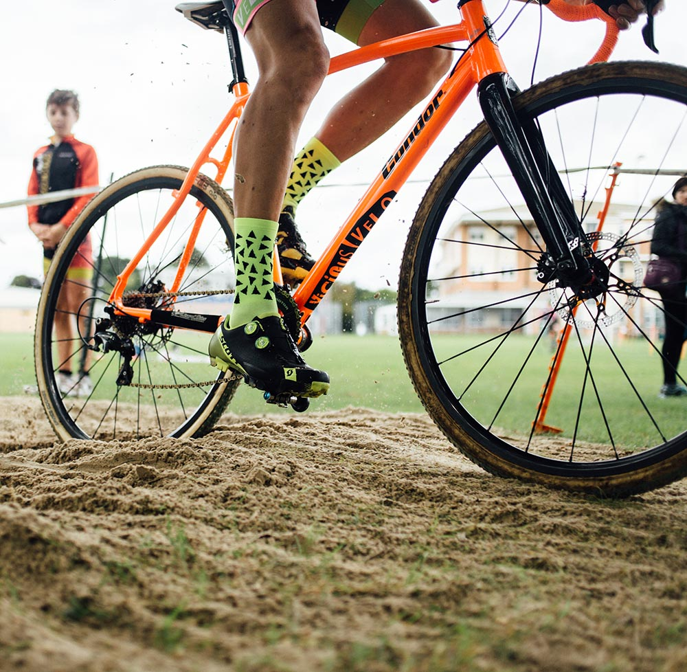 How to ride in sand in cyclo-cross