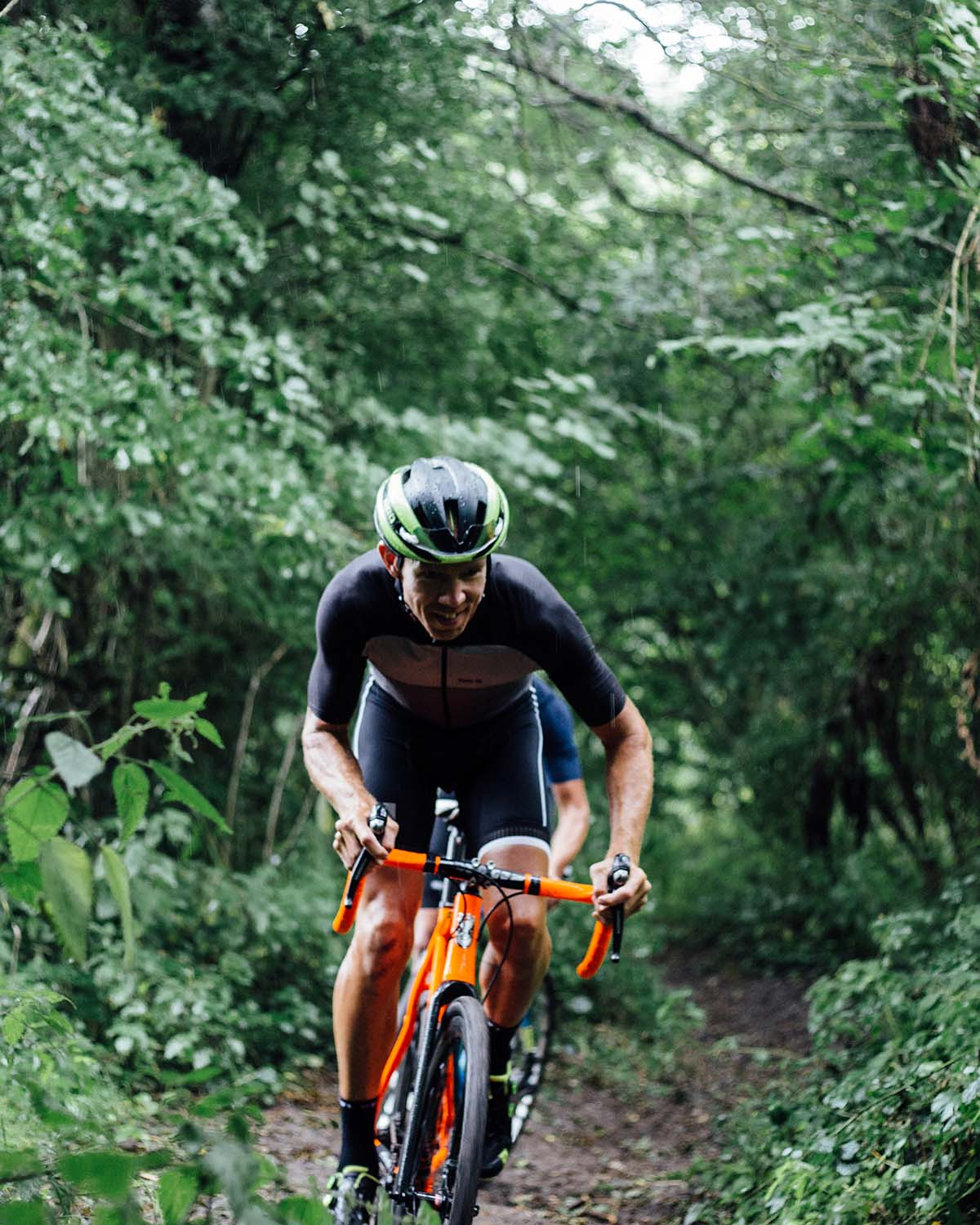 Paul Sheers on a cyclocross training ride