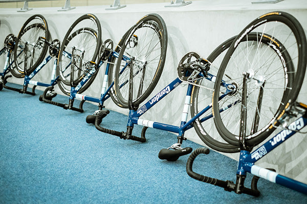 Condor bikes at Lee Valley Velopark