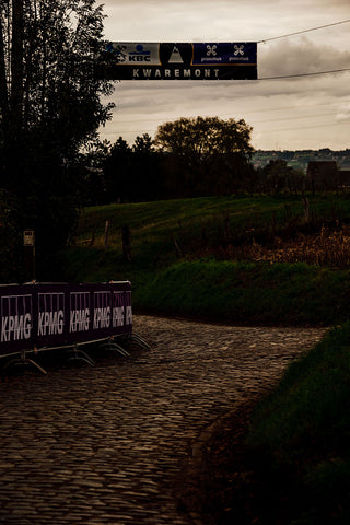 Kwaremont climb in the Tour of Flanders