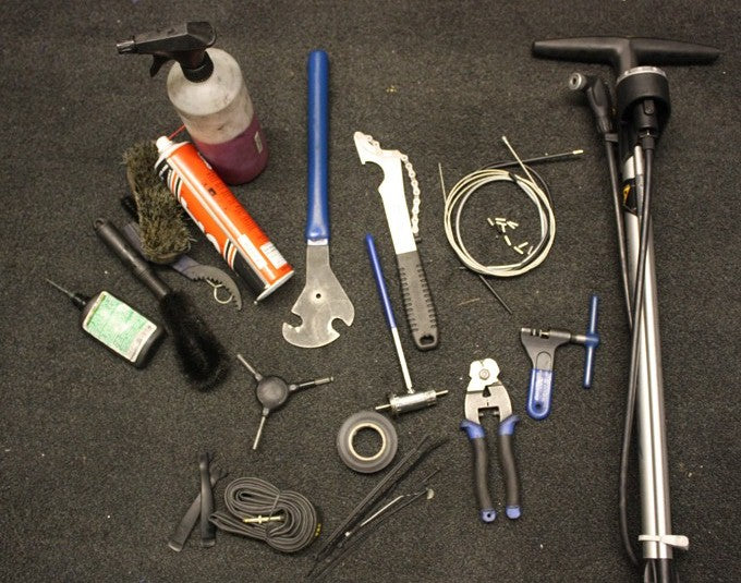 Essential tools for cyclists