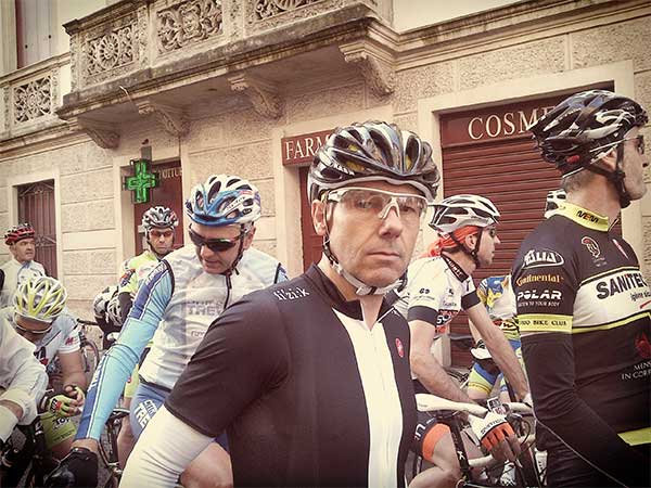 Julian Cunnington before Gran Fondo