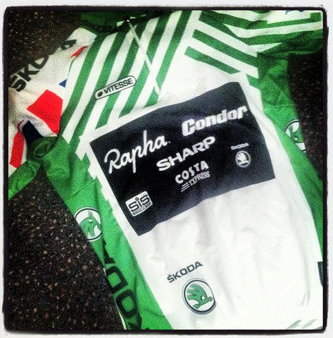 Skoda King of the Mountains jersey