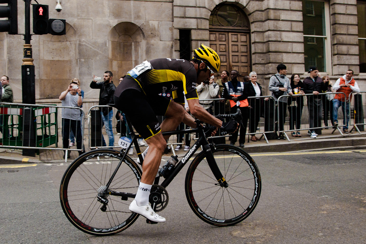 Kristian House on the Leggero SL at the Tour of Britain