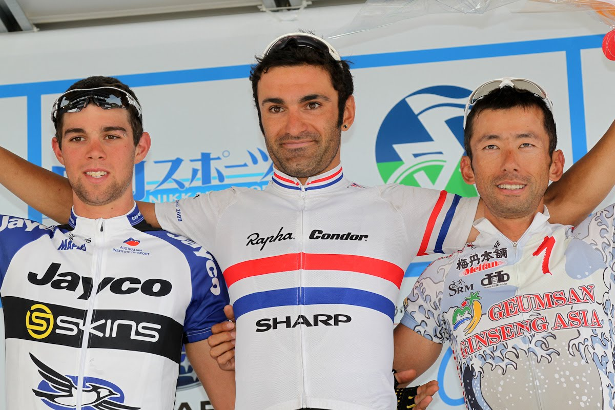 Kristian House Podium in Japan