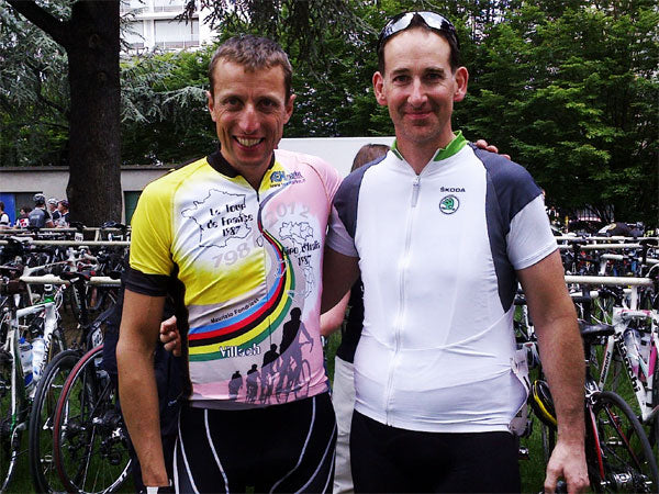 Mr Fondriest and Neil Manning