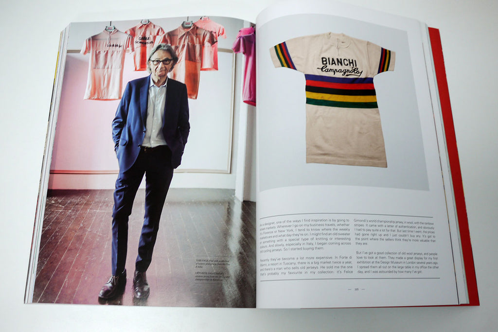 page from new Paul Smith Cycling Scrapbook