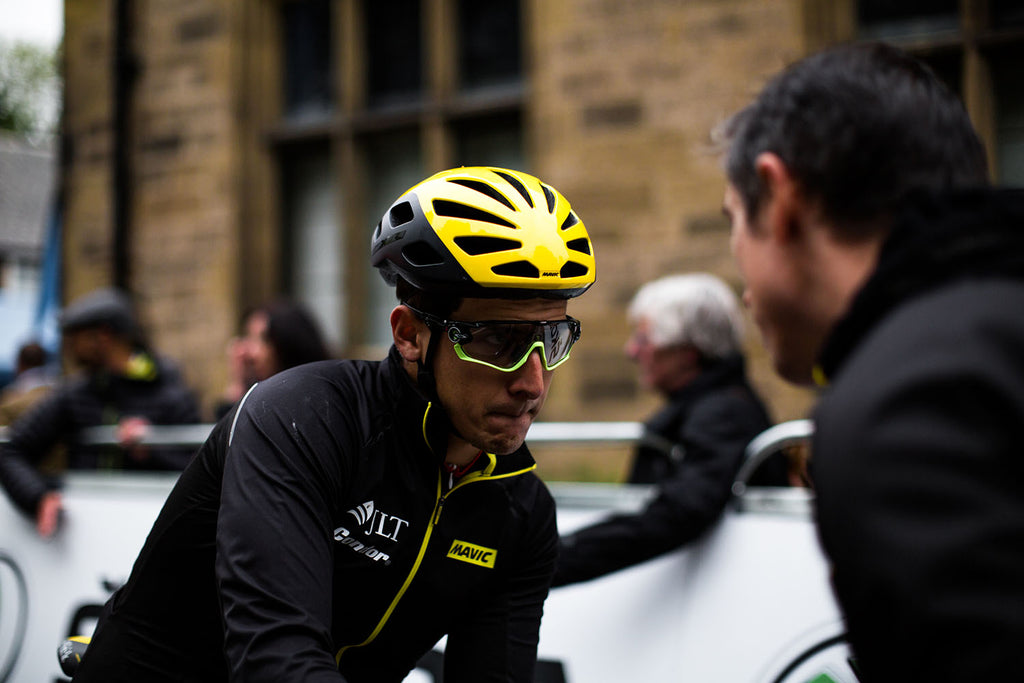 JLT Condor's Alex Frame at the Tour Series
