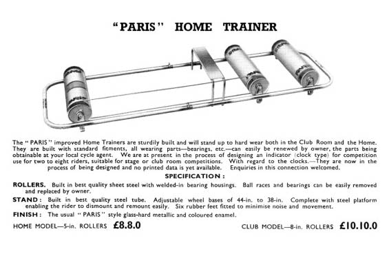 Paris Home Trainer