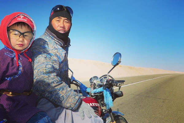 Beijing to Tehran, the riding the silk road