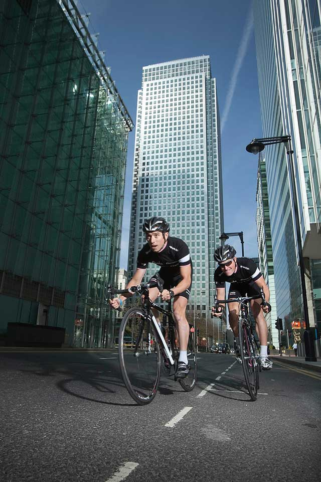 Rapha Condor Sharp Host Canary Wharf Tour Series Opening Round
