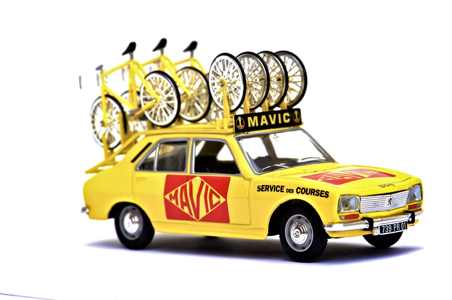 Retro Mavic Car