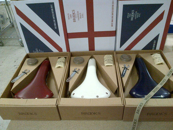 Brooks Swallow Union Jack saddles