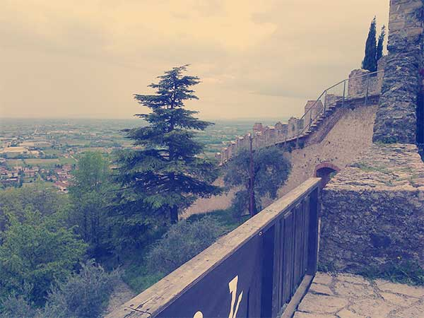 View from Marostica Castle