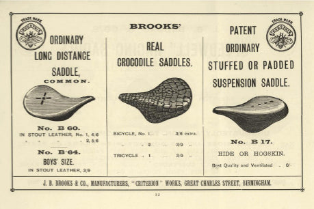 Brooks advert