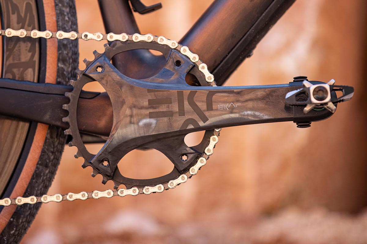 Campagnolo Ekar chainset available now