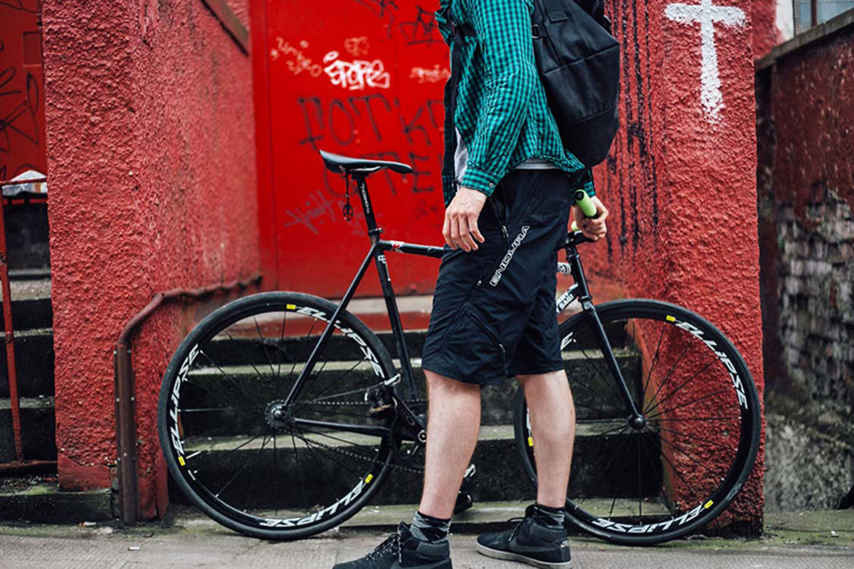 Cycle couriers and the Hummvee Shorts