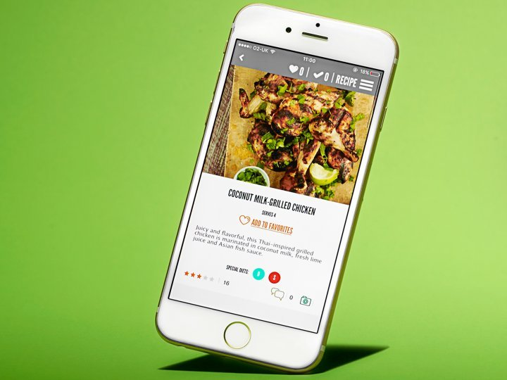 Kafoodle health food app
