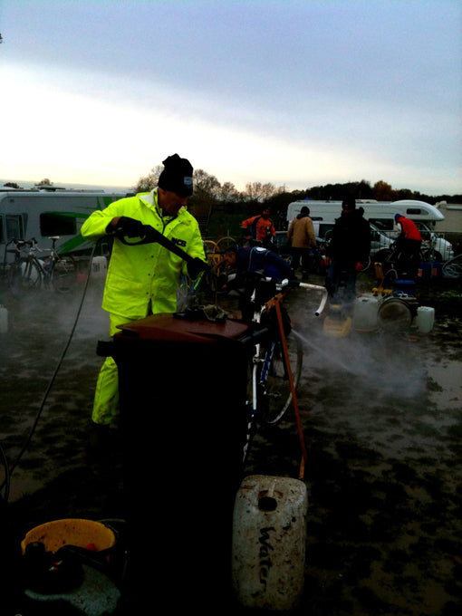 Cyclo Cross Pit at National Trophy