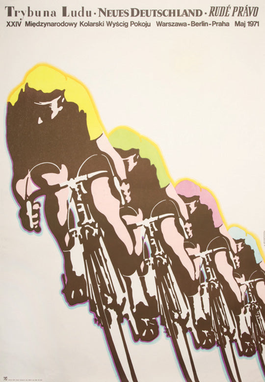 1971 Peace Race Poster