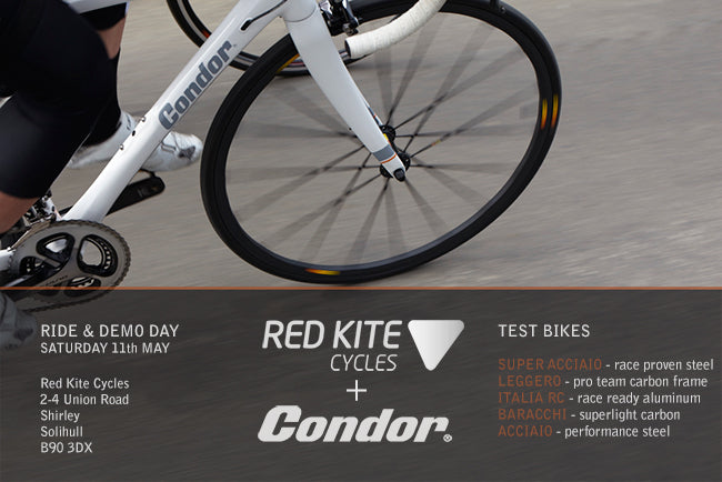 Condor & Red Kite Cycles Demo Day