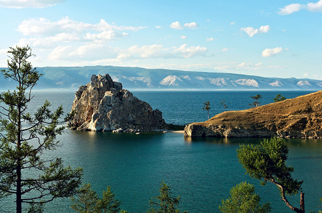 Lake Baikal in summer