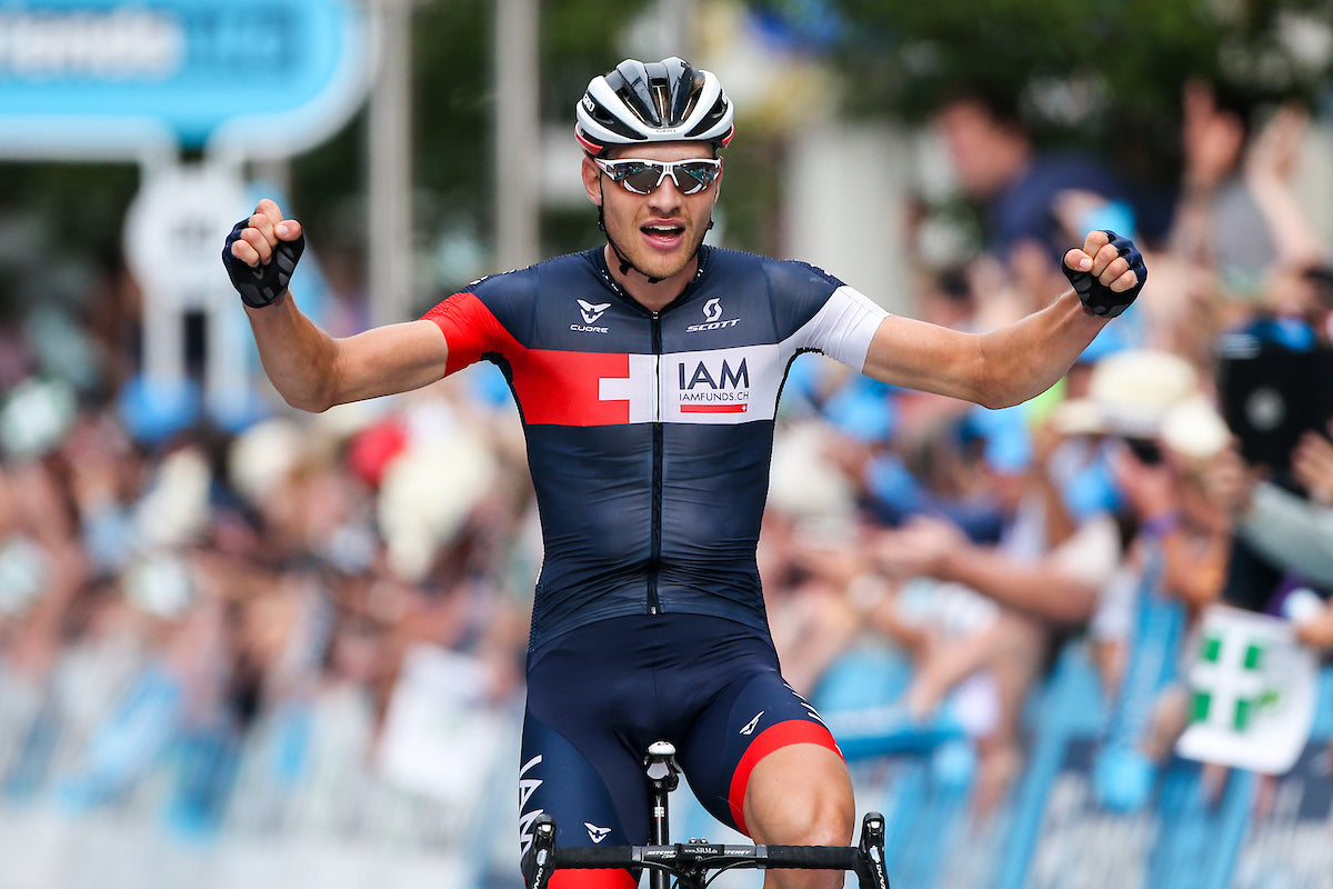 Brandle wins stage five after attack on hill